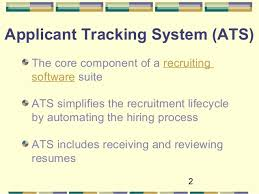 Optimize Your Resume For Applicant Tracking Systems Denis Curtin 2016; 2.