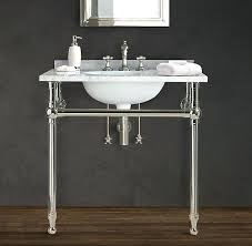 double console sink master bathroom console sink double console sink metal legs