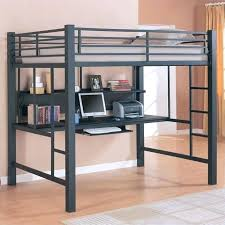 bed with desk attached full size desk bed coaster full size metal loft bed with computer workstation in black full full size desk bed platform bed with desk
