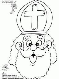 Kleurplaten Maskers Sinterklaas Archidev Sinterklaas Maskers
