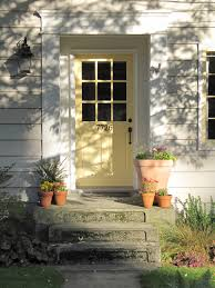 cottage front doorsFurniture Traditional Entry With Adorable Light Yellow Cottage