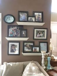 Floating Shelves For Picture Frames Adorable Floating Shelves Picture Display I Like The White Shelves Black