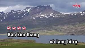 Bắc Kim Thang - Nhạc Thiếu Nhi | Karaoke TVA - Dễ ca nhất cho nam và nữ -  #1 Xem lời bài hát