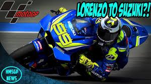 motogp news jorge lorenzo to move to suzuki rumour