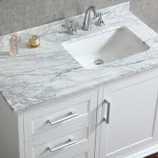 single white bathroom vanities. Ariel By Seacliff Nantucket 42\ Single White Bathroom Vanities C