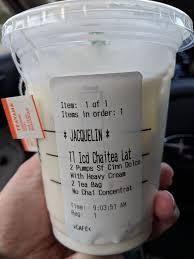 photo of starbucks charlotte nc united states keto friendly chai tea latte