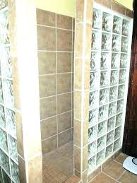 showers glass blocks for shower block showers we specialize in walls kit wall designs photos