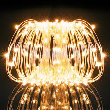 decorative string lighting.  String Kohree USB 33ft Copper Wire 100 LED Fairy Starry String Lights Decorative  Rope For Party Wedding Commercial Light  Walmartcom Throughout Lighting