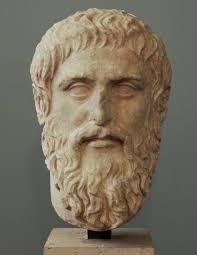 Portrait of Plato.