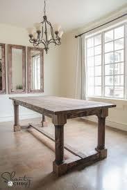 nice diy rustic dining room table with best 25 rustic farmhouse table ideas on farm