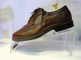 men s shoe made of genuine leather and created in traditional way