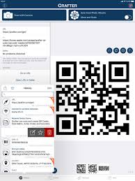 qrafter qr code on the app