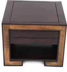 evok solid wood bedside table buy zina solidwood side table