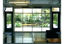 glass garage doors s modern garage door cost glass overhead doors specialty modern aluminum garage
