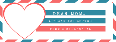 Dear Mom A Thank You Letter From A Millennial Lifter Today