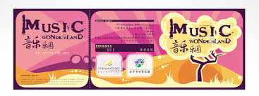 Samples Of Tickets For Events 32 Excellent Ticket Design Samples Uprinting