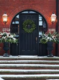 black front door27 Chic Dark Front Doors To Try For Your Entry  Shelterness