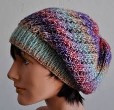 Free Knitted Hat Patterns On Circular Needles Inspiration Slouchy Beanie Knitting Patterns In The Loop Knitting