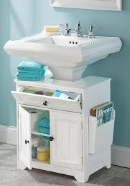 bathroom pedestal sink. The Pedestal Sink Storage Cabinet Bathroom