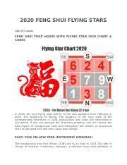 2020 Feng Shui Flying Stars Docx 2020 Feng Shui Flying