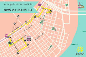 garden district new orleans walking tour map. Unique District A Neighborhood Walk In New Orleans The Garden District U2014 BiteSized Guide  Orleans Intended Walking Tour Map Y