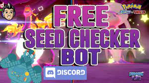 FREE SEED CHECKER BOT in our Discord Server for Pokemon Sword and Shield! -  YouTube