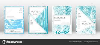 Cover Page Design Template Stylish Brochure Layout