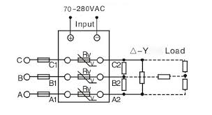 solid state relay, 3 phase, ssr 80aa, 80a 70 280v ac to ac ato com ssr 125 wiring diagram 3 phase ssr wiring diagram 70 280vac