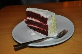 California Pizza Kitchen: Red Velvet Cake