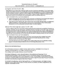 Aviation Resume Example