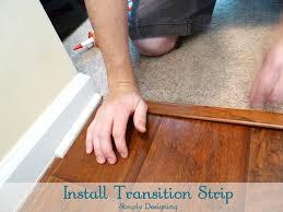 install transition strip diy carpet laminateflooring flooring homeimprovement at