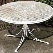 white metal outdoor furniture. Modern Patio And Furniture Thumbnail Size White Metal Set Table Outdoor Side Plans . Sears C