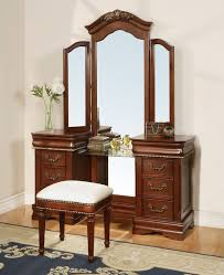 11845 classique vanity mirror cherry finish dressing