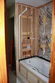 is this tub shower plumbing roughed in correctly