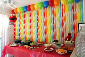 how to decorate birthday party room