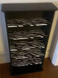 zebra print bedroom furniture. things i have crafted or refurbished animal print furniture painted zebra bedroom h