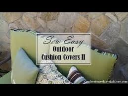 Patio Furniture Cushion Covers YouTube
