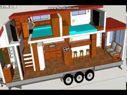 Exceptional 2 Bedroom Tiny House Plans On Wheels Homes Zone 2 Bedroom Tiny House On  Wheels For
