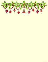 Christmas Stationery Grandmas Old Fashioned Ornaments Holiday Laser And Inkjet Printer Invitation Paper