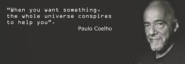 you need these aha moments from the alchemist by paulo coelho  the foreword in this book is explosive it gives the reader the impression that since the writer who was 41 and desperate could make it then you can too