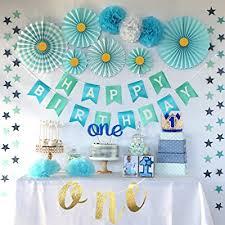 party inspo 1st birthday boy