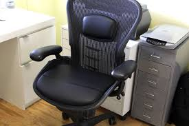 can the aeron chair be improved with the u fo saddle collection
