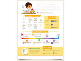 Infographic Resume Builder Resume Template Ideas
