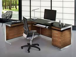 nice office desk. Interesting Office Home Office Furniture Shaped Desk Nice Desks Contemporary Ideas About  Modern Concept Collections Main Table Computer Inside E