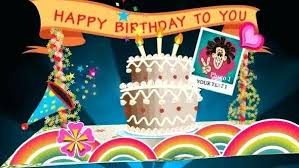 Kids Baby Birthday After Effects Templates Card Pop Up Happy Video