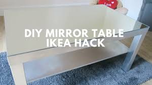 DIY MIRROR TABLE ! | Ikea Hack