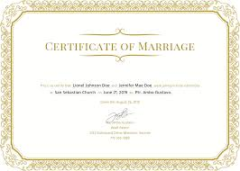 003 Fake Marriagete Template Wedding Unique Free In Ms Word