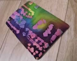 tie dye business cards tie dye card sleeve etsy