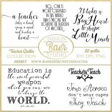 Quotes For Teachers Amazing Inspirational Teacher Quotes Printable Quotes Teachers Etsy