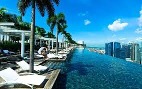 infinity pool singapore edge. Marina Bay Sands In Singapore Infinity Pool Edge Y
